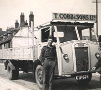 Classic Dennis Pax truck