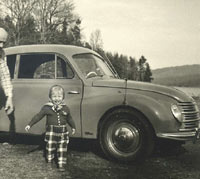 Side view of the DKW
