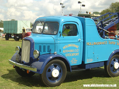 Dodge breakdown truck