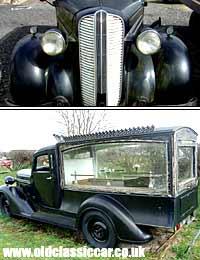 Hearse Hire From A Motor Proprietor 1931