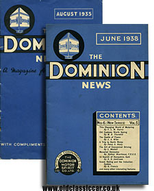 Dominion News magazines