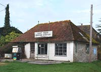 Old service station in Sussex