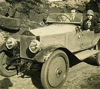 An Eric Campbell motor-car