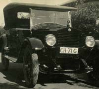 A brand new Essex motor-car of the 1920s