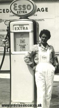 Esso pump & globe