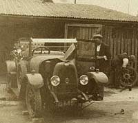 Vintage Fiat 501 motor-car