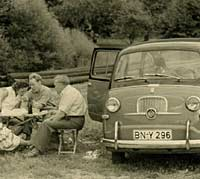 The original Fiat Multipla of 1956 on.