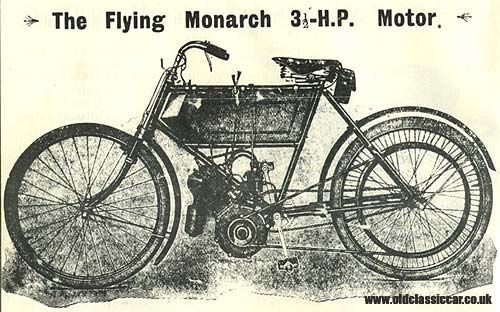 Flying Monarch 3.5HP motorcycle