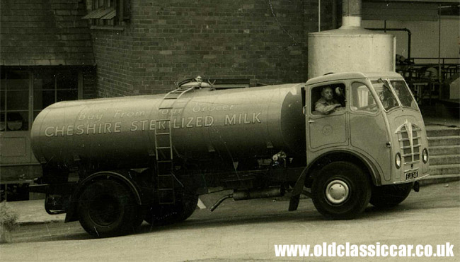 Foden tanker lorry