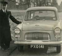 A four-door 100E Prefect