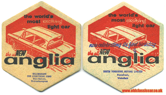 105E Anglia coasters from the 1960s