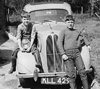 Ford Anglia saloon car
