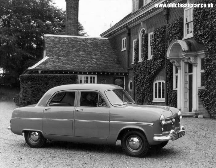 Ford Consul official press