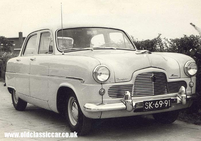 Dutch-registered Mk1 Ford Zephyr