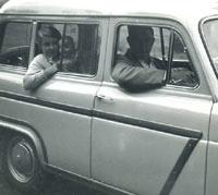 Ford 100E Squire estate car