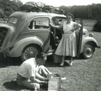 Ford Popular 103E in the New Forest