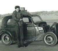 A stripped Ford Model C or CX
