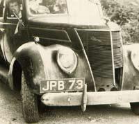 1939 Ford V8 sedan