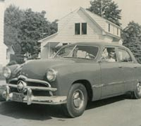 A Ford car from 1949