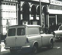 Ford Thames 307E van.