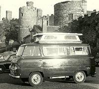 A 400E camper van in Wales