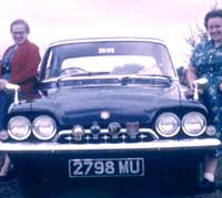 A Ford Consul Classic of 1962