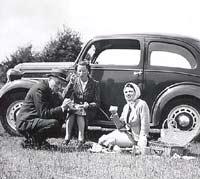 Pre-war Ford 7Y Eight