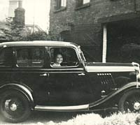 A Ford Model Y 4dr saloon car