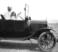 A Model T in 1921