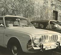 Old photo of a Taunus 20M saloon