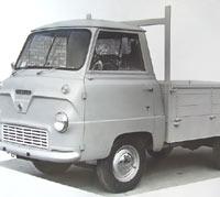 400E dropside pickup truck
