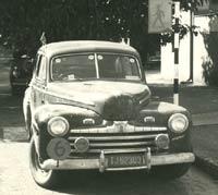 1946 Ford V8 car