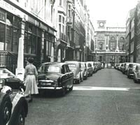 A Ford Zephyr parked in a London street