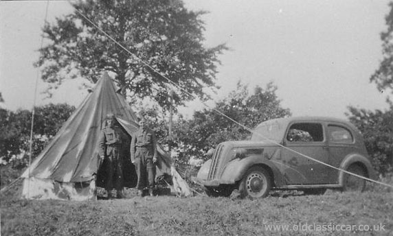 Ford 7W at a camp