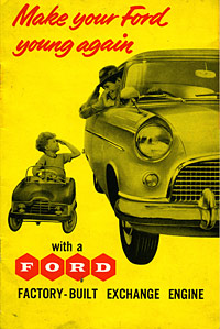 Ford engine leaflet