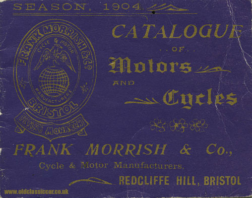 Cover of the Frank Morrish / Flying Monarch catalogue