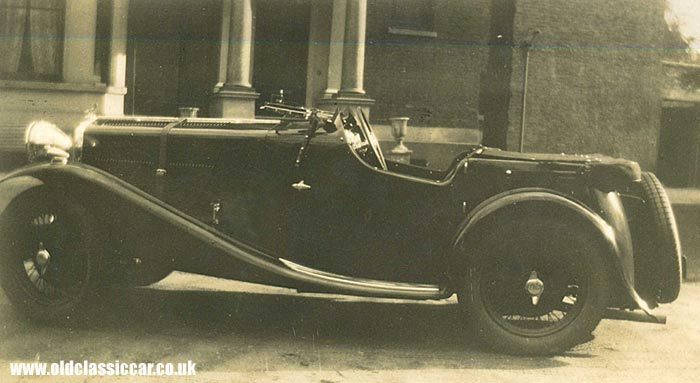 A Wolseley Hornet Special with coachwork by Freddie March