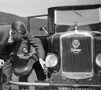 A Galloway car seen in 1928