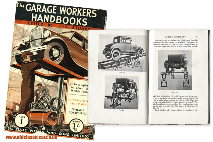 The cover of Garage Workers Handbook number 1