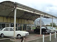 Car dealership located at Prees, nr Whitchurch in Shropshire