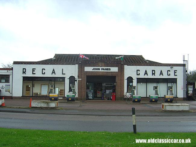 Regal garage  John Pane's garage in Upton Upon Severn nr Worcester
