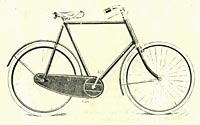 Gents bicycle with Chater Lea fittings