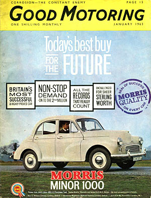 Magazine cover dating to Jan 1963