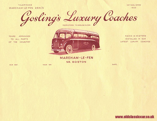 Gosling's Luxury Coaches