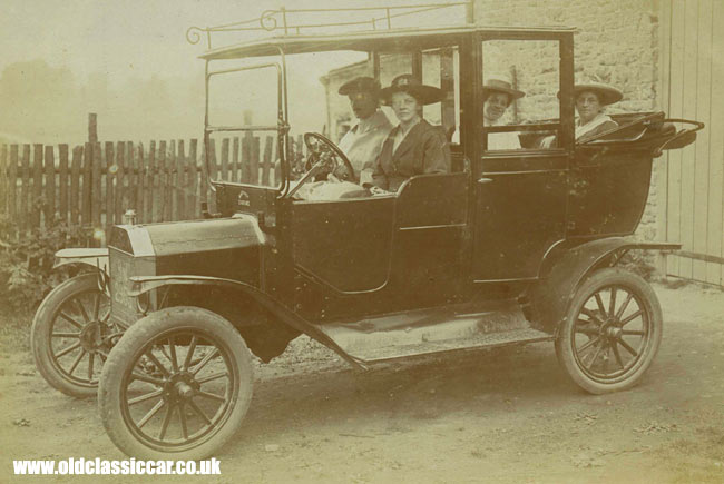Model T taxi hackney carriage