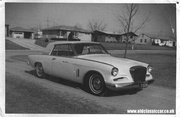 Picture of a Studebaker Hawk