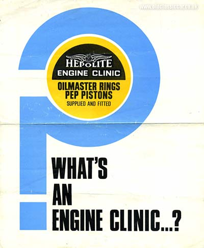 Hepolite pistons and piston rings