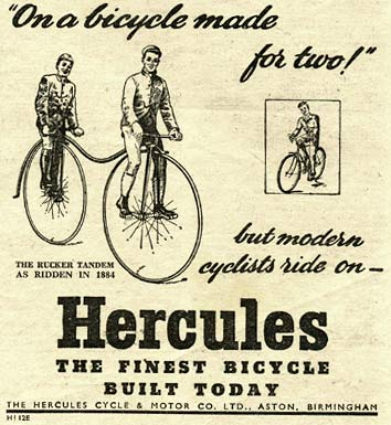 Hercules bicycles