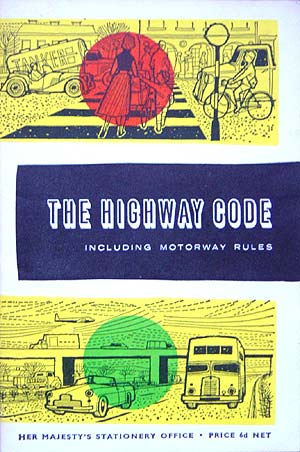 Cover of the Highway Code from 1963