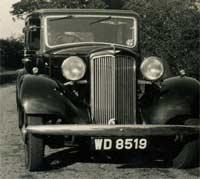 Hillman 20/70 car